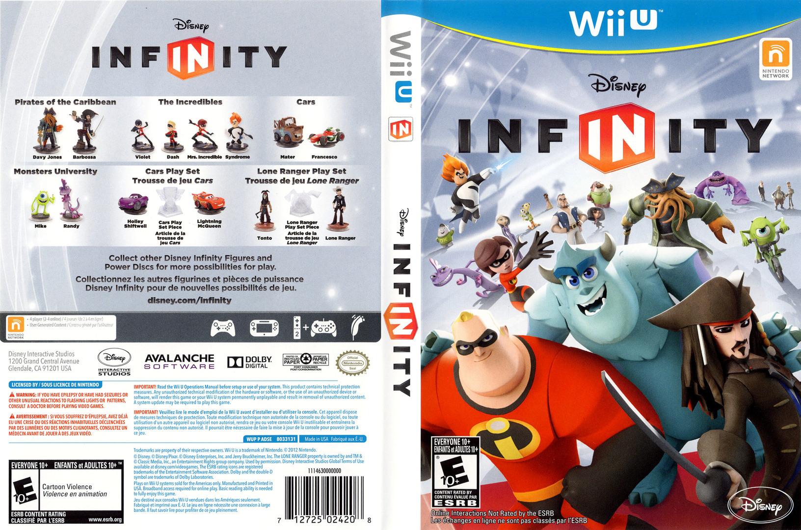 Disney Infinity WiiU coverfullHQ (ADSE4Q)