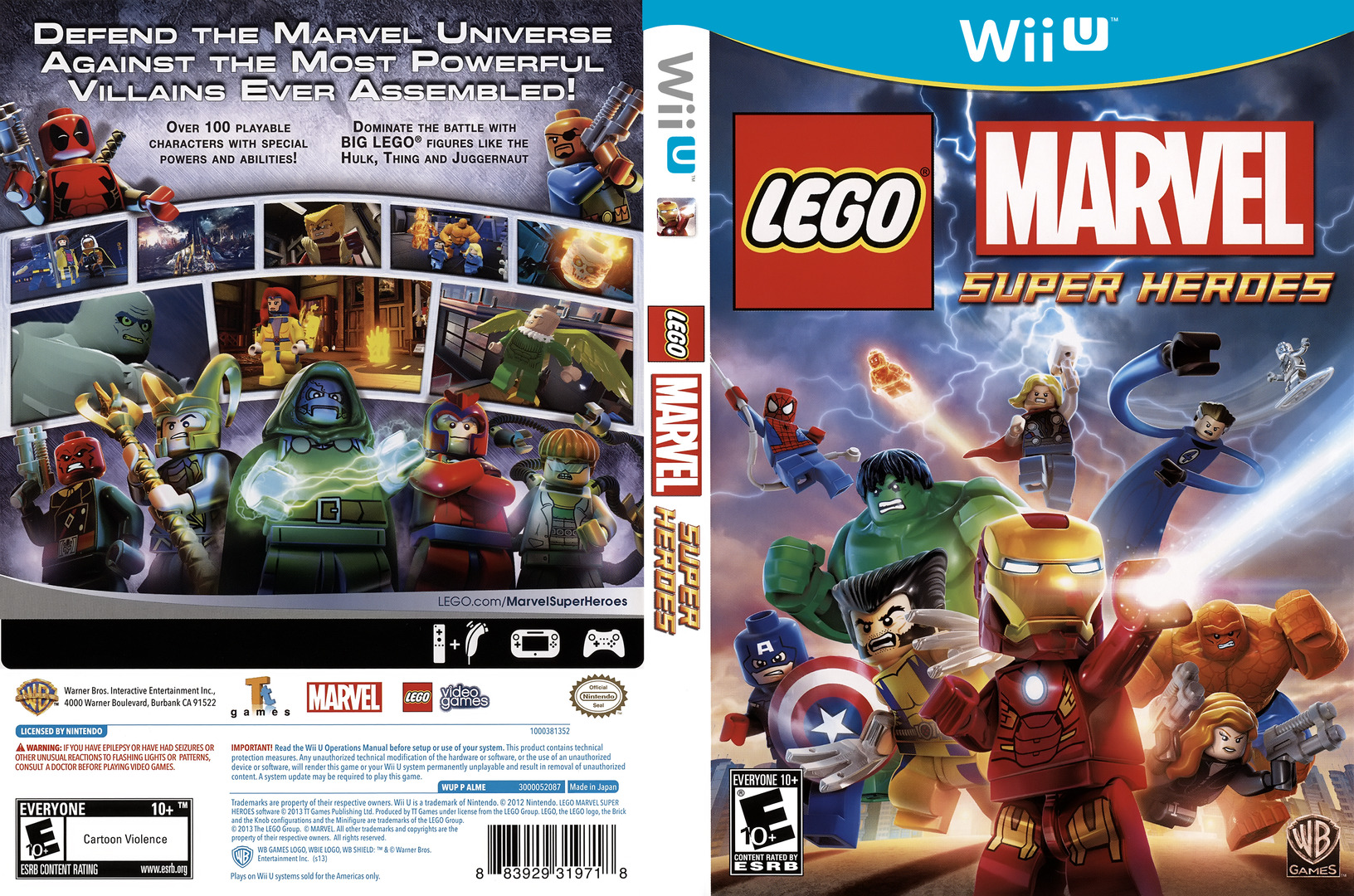 Lego marvel superheroes video game wii u - Toltec scenic
