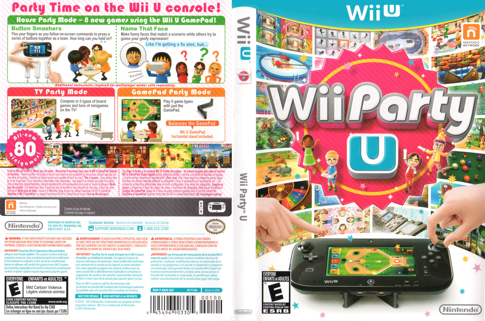 Wii Party U WiiU coverfullHQ (ANXE01)
