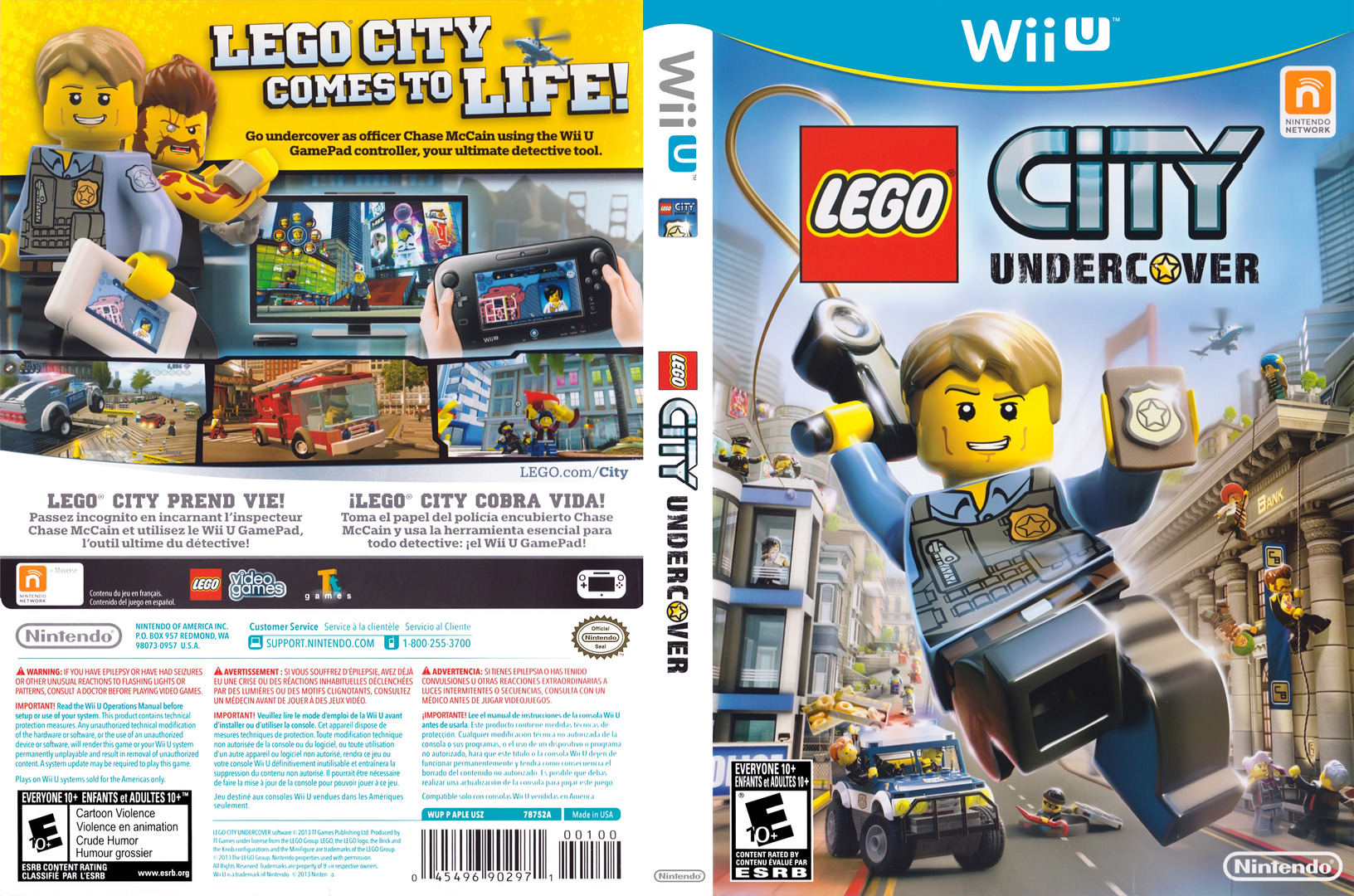 Aple01 lego city undercover for Case lego city