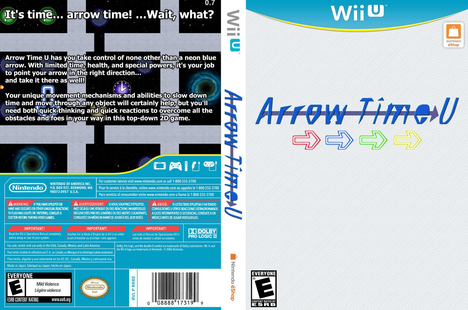 Arrow Time U WiiU coverfullHQ (ARUE)
