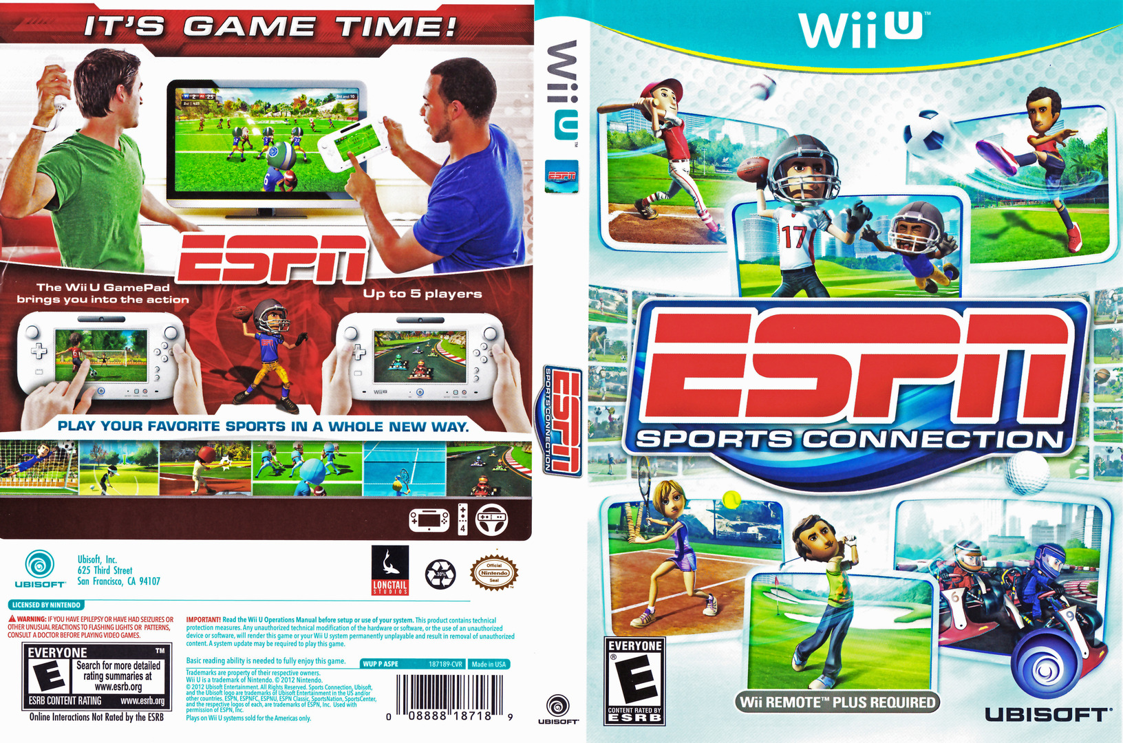 ESPN Sports Connection WiiU coverfullHQ (ASPE41)