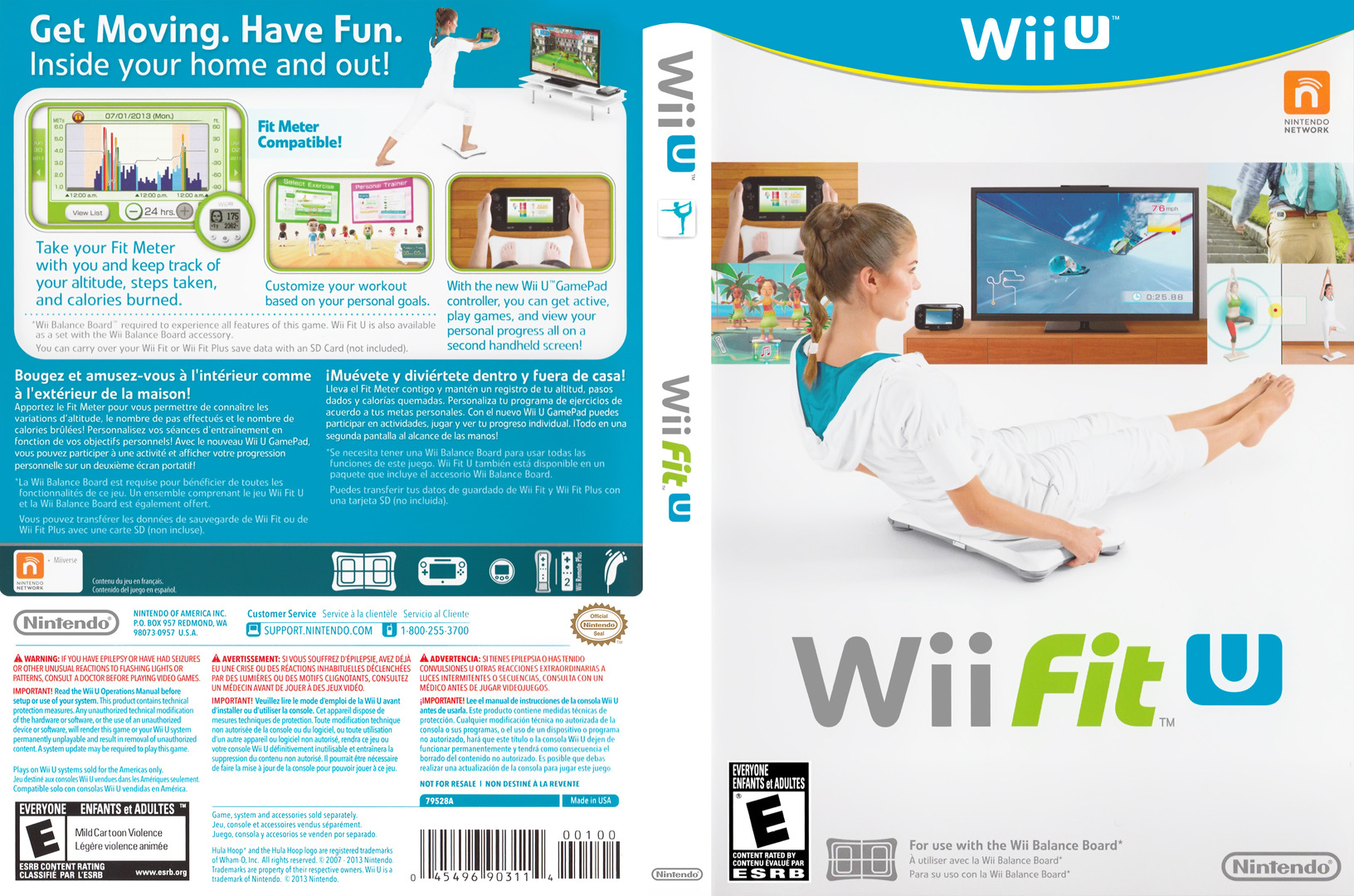 Wii Fit U Array coverfullHQ (ASTE01)