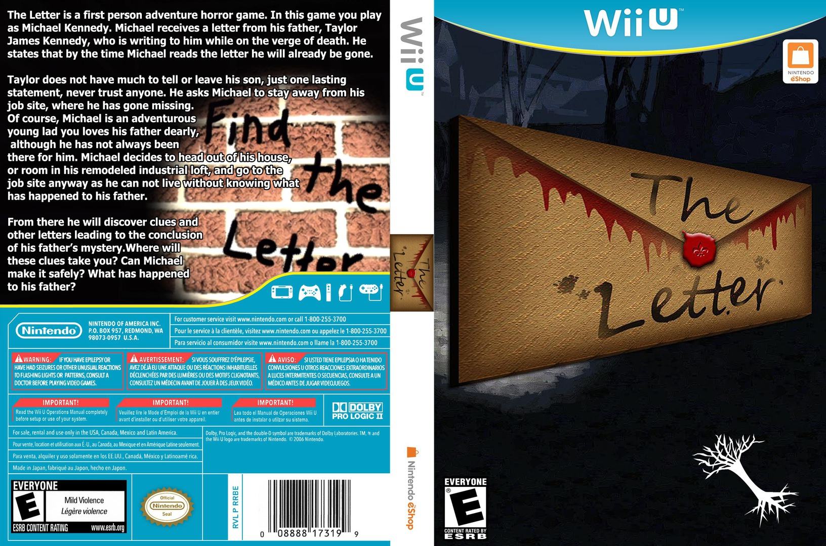 The Letter WiiU coverfullHQ (ATLE)