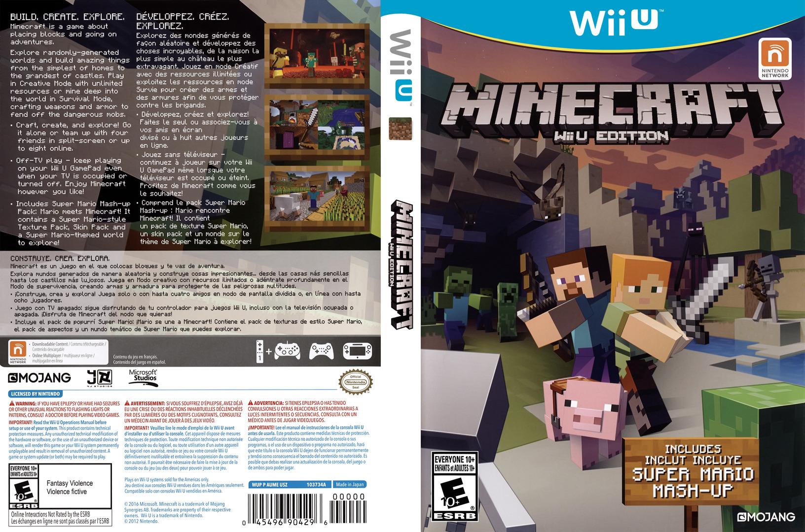 Minecraft: Wii U Edition Array coverfullHQ (AUMEDU)