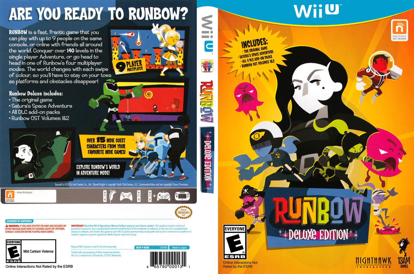 Runbow Deluxe Edition WiiU coverfullHQ (BENE8X)