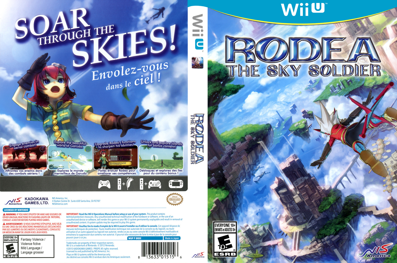 Rodea the Sky Soldier WiiU coverfullHQ (BRDENS)