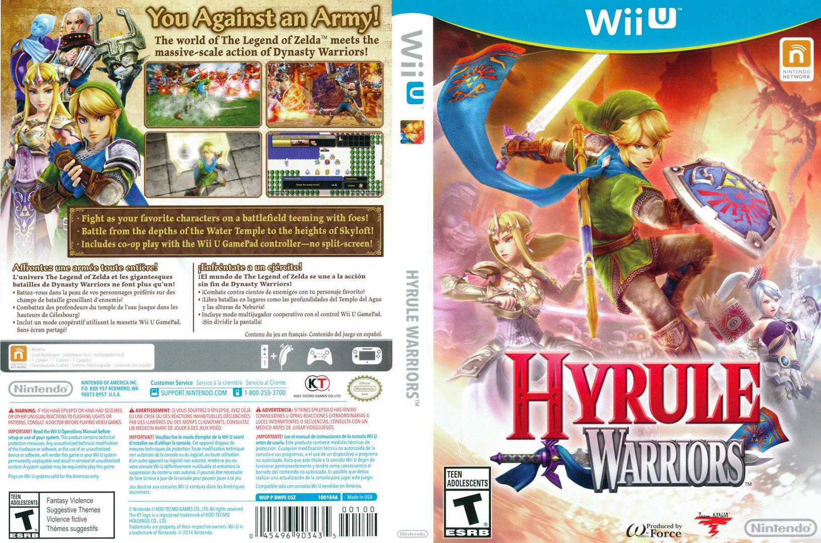 Hyrule Warriors WiiU coverfullHQ (BWPE01)