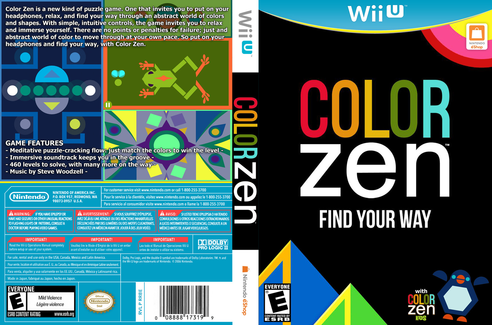 Color Zen WiiU coverfullHQ (WCZE)