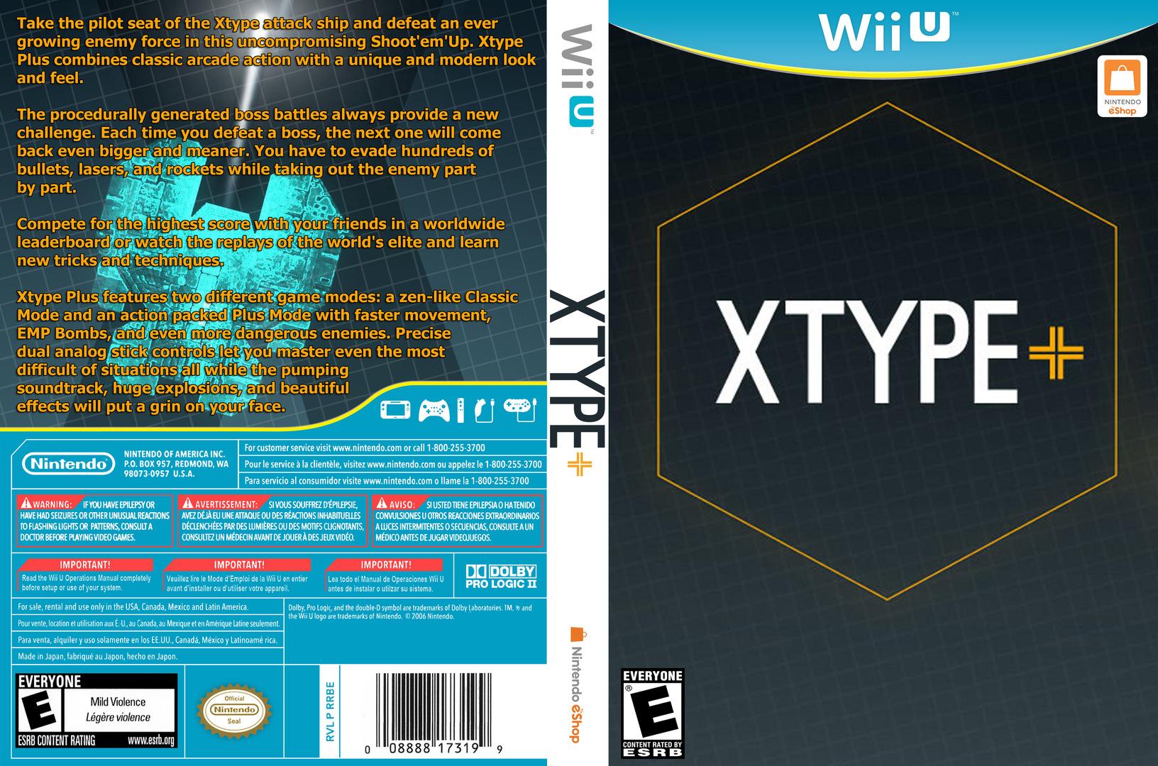 XType+ WiiU coverfullHQ (WEXE)