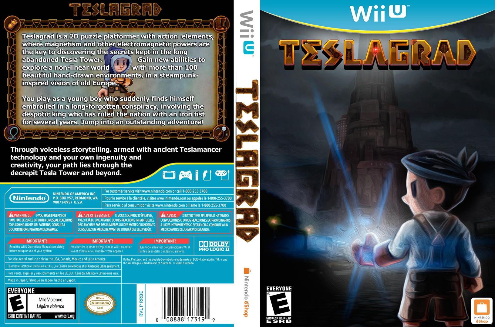 Teslagrad WiiU coverfullHQ (WGDE)
