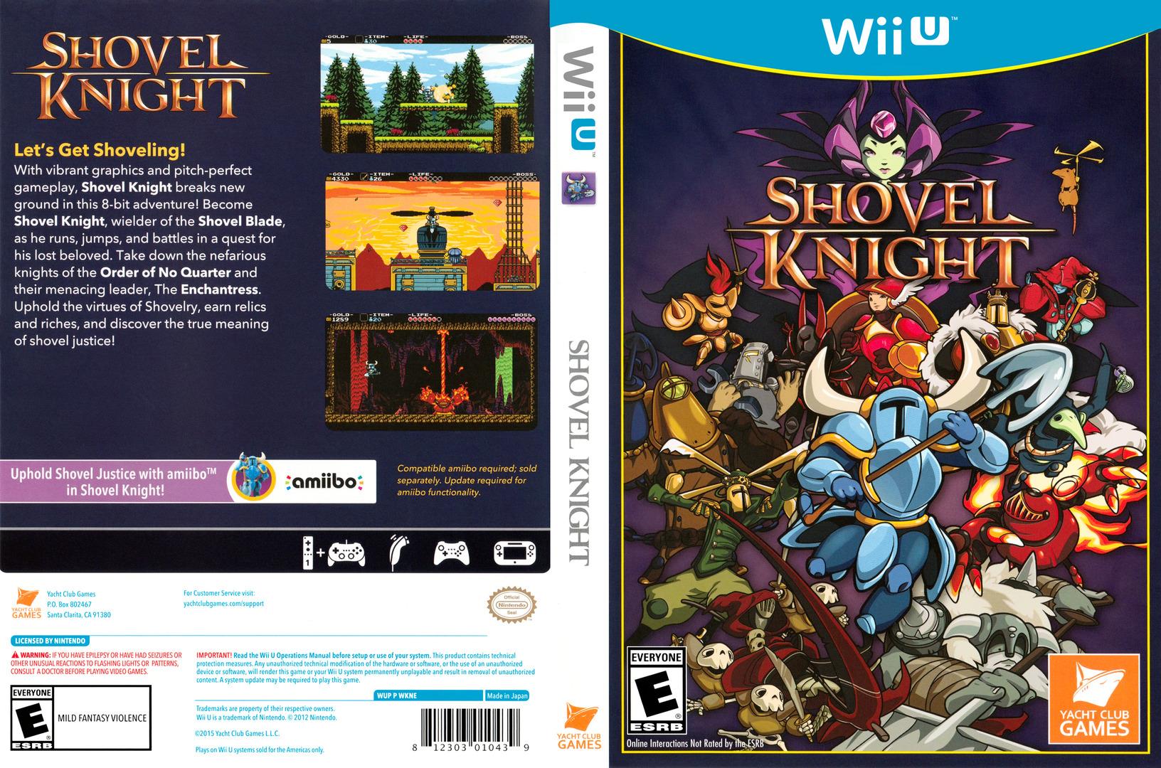 Shovel Knight WiiU coverfullHQ (WKNEAY)