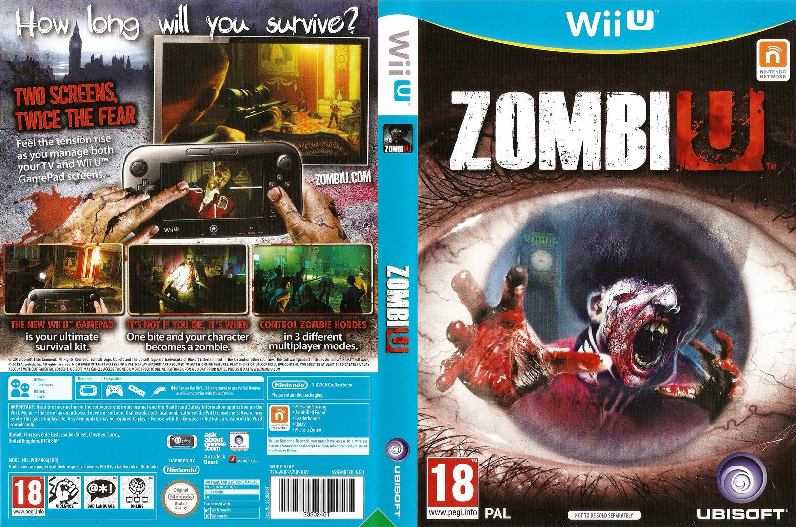 ZombiU WiiU coverfullHQB (AZUP41)