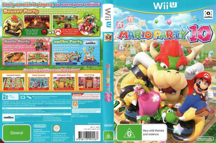 Mario Party 10 WiiU coverfullM (ABAP01)