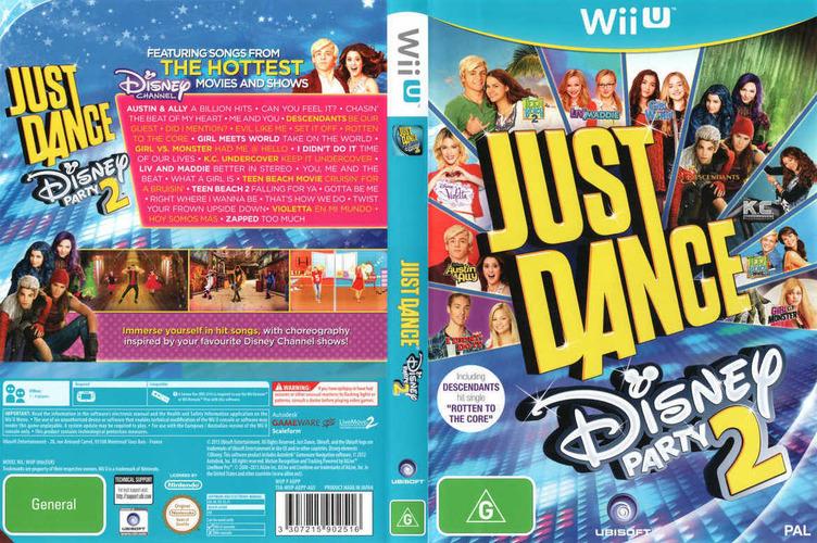 Just Dance Disney Party 2 WiiU coverfullM (ADPP41)