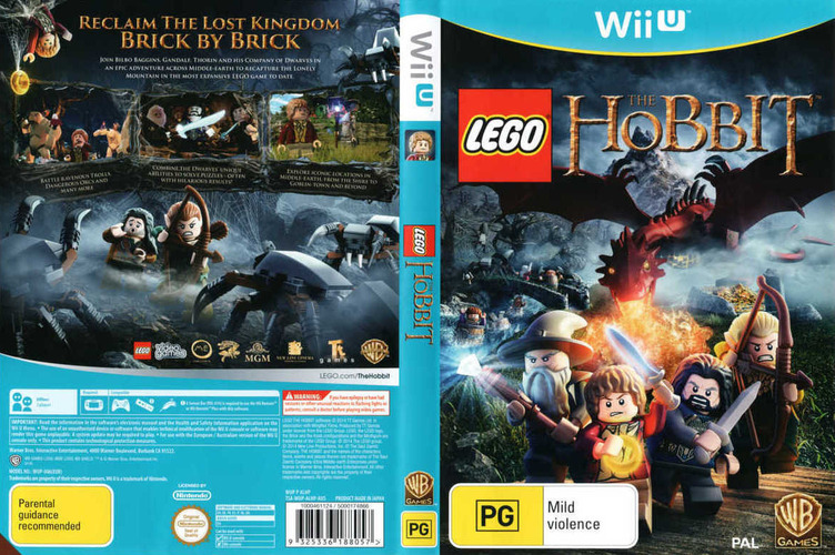 LEGO The Hobbit WiiU coverfullM (ALHPWR)