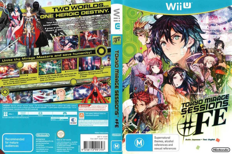 Tokyo Mirage Sessions #FE WiiU coverfullM (ASEP01)