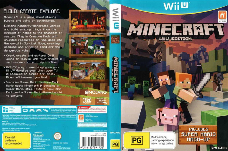 Minecraft: Wii U Edition WiiU coverfullM (AUMPDU)