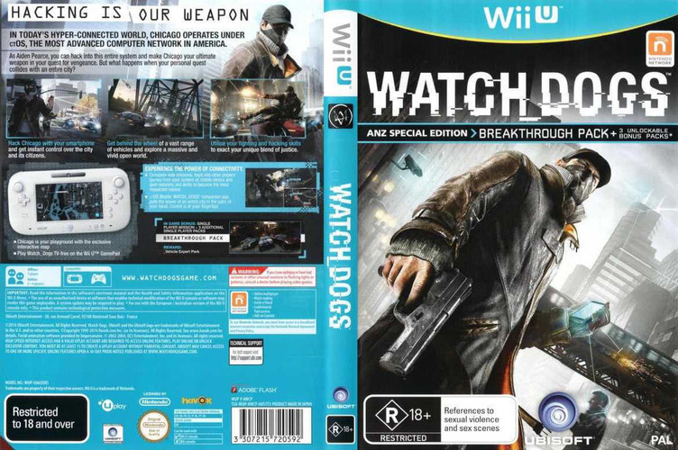 Watch Dogs Array coverfullM (AWCP41)