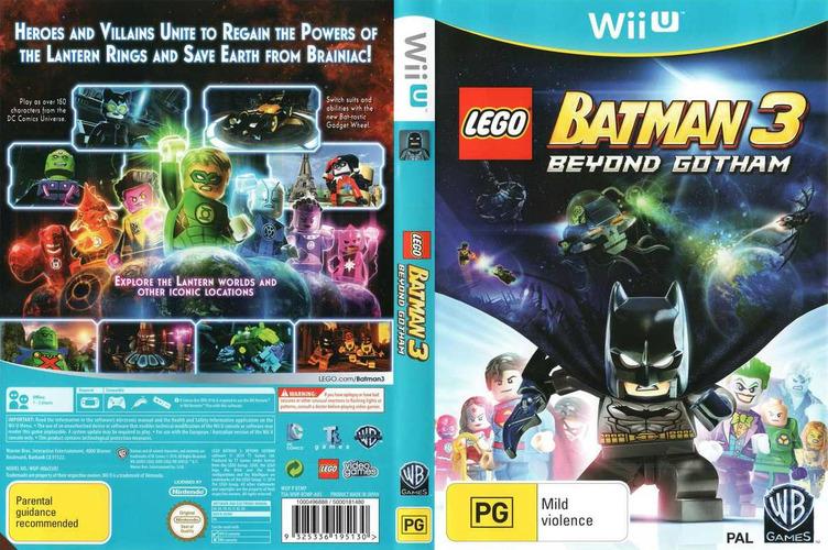 LEGO Batman 3: Beyond Gotham WiiU coverfullM (BTMPWR)
