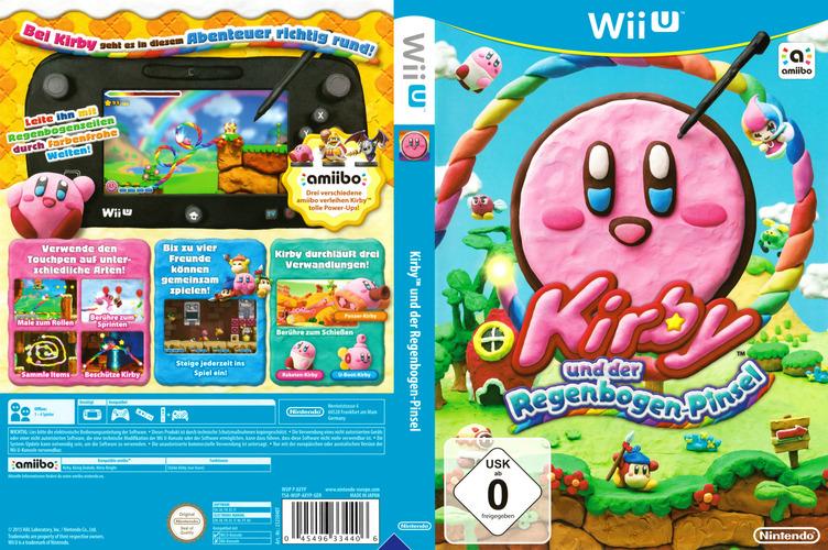 Kirby und der Regenbogen-Pinsel WiiU coverfullM (AXYP01)