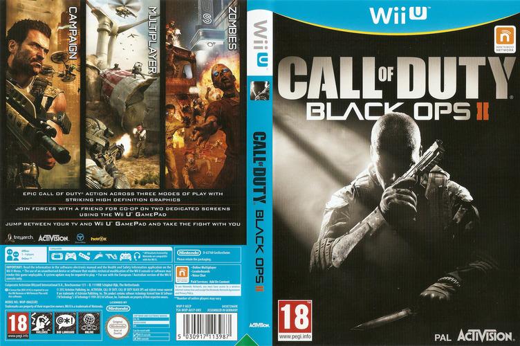 Call of Duty: Black Ops II WiiU coverfullM (AECP52)