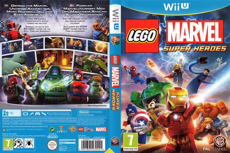 LEGO Marvel Super Heroes Array coverfullM (ALMPWR)