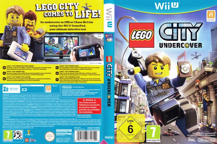 LEGO City Undercover WiiU coverfullM (APLP01)