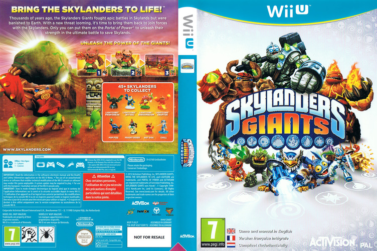 Skylanders: Giants WiiU coverfullM (ASLP52)