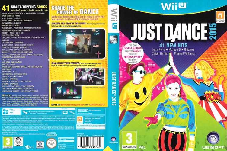 Just Dance 2015 WiiU coverfullM (BJDP41)