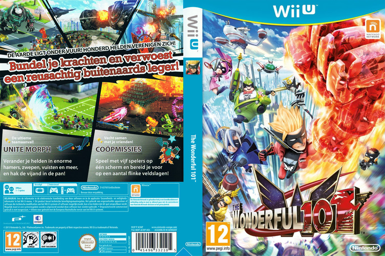 The Wonderful 101 WiiU coverfullM (ACMP01)