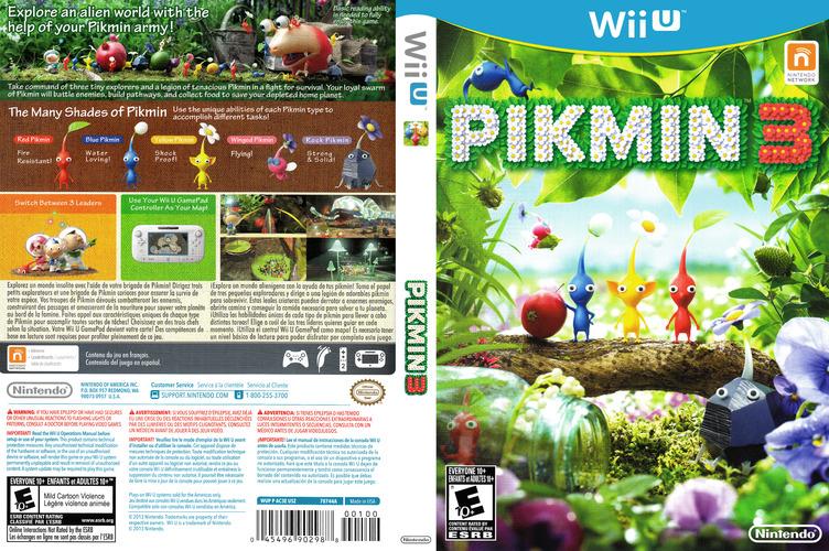 Pikmin 3 WiiU coverfullM (AC3E01)