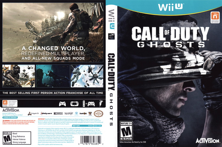 Call of Duty: Ghosts WiiU coverfullM (ACPE52)