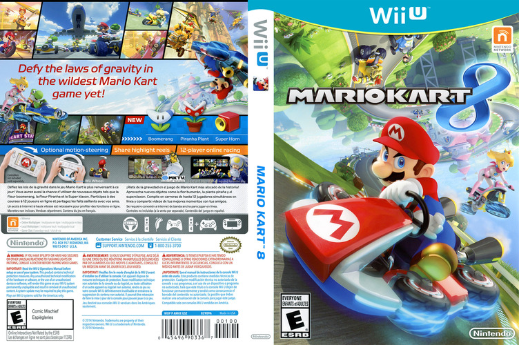 Mario Kart 8 WiiU coverfullM (AMKE01)