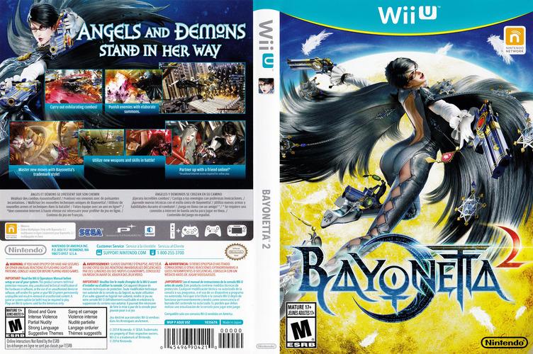 Bayonetta 2 WiiU coverfullM (AQUE01)