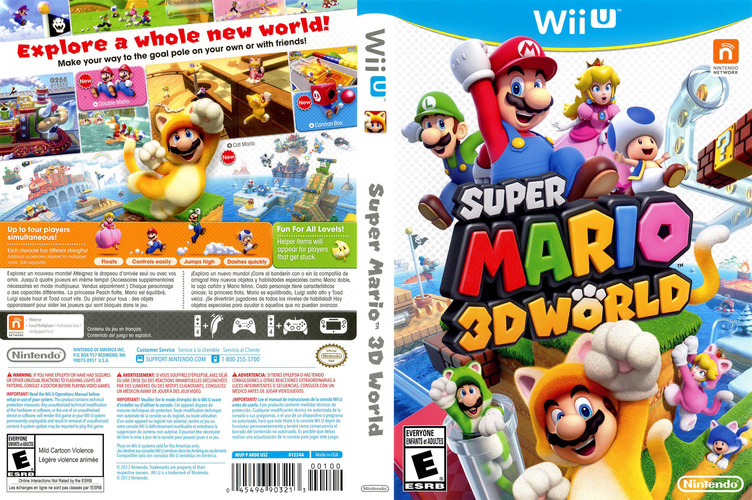 Super Mario 3D World WiiU coverfullM (ARDE01)