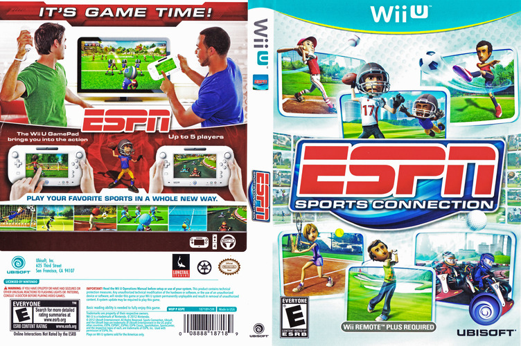 ESPN Sports Connection WiiU coverfullM (ASPE41)