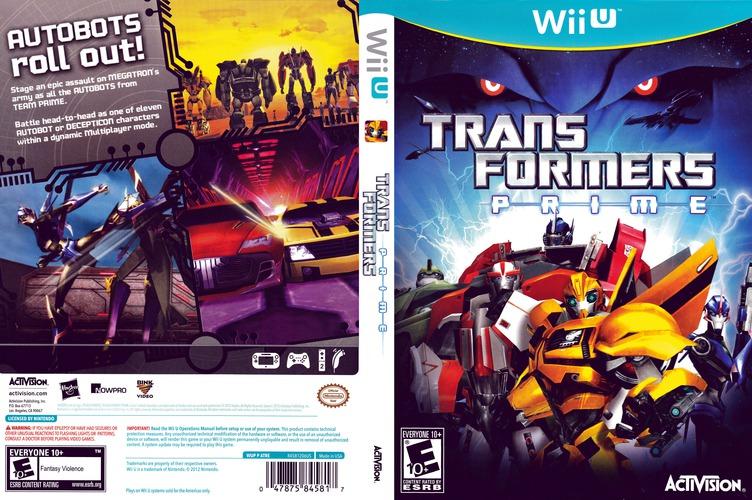 Transformers: Prime WiiU coverfullM (ATRE52)