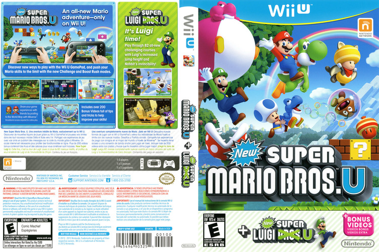 New Super Mario Bros. U + New Super Luigi U WiiU coverfullM (ATWE01)