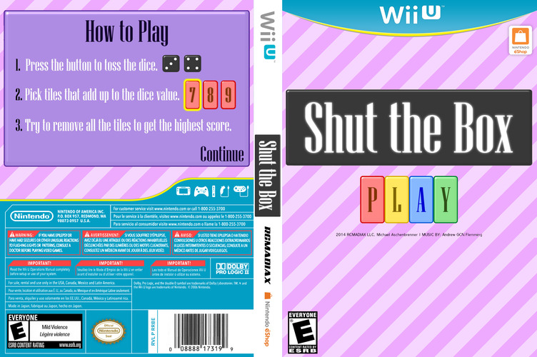 Shut the Box WiiU coverfullM (BSHE)