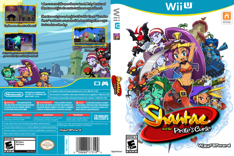 Shantae and the Pirate's Curse WiiU coverfullM (BSXE)