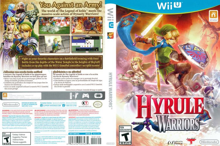 Hyrule Warriors WiiU coverfullM (BWPE01)