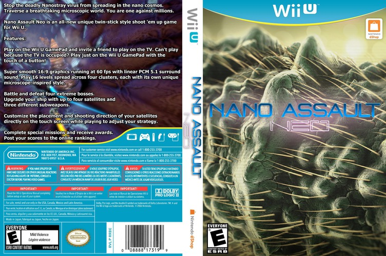 Nano Assault Neo WiiU coverfullM (WASE)