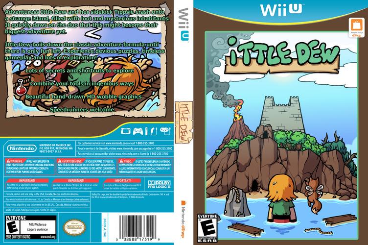 Ittle Dew WiiU coverfullM (WDWE)
