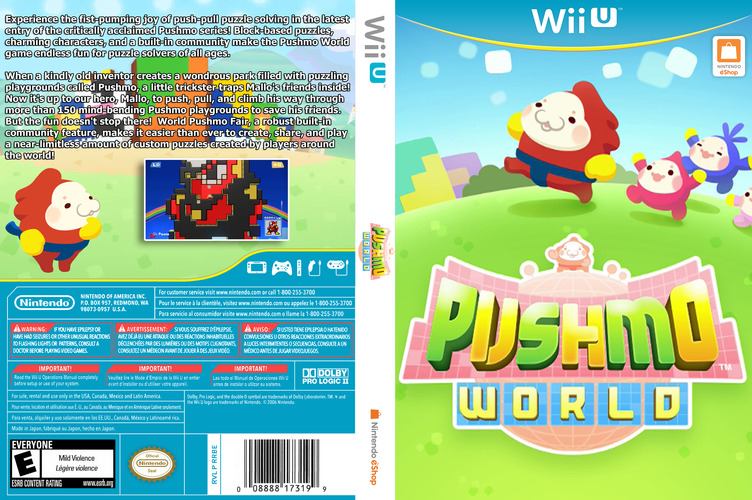 Pushmo World WiiU coverfullM (WKEE)