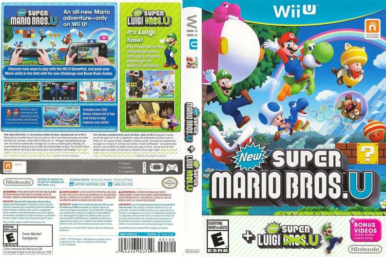 New Super Mario Bros. U + New Super Luigi U WiiU coverfullMB (ATWE01)