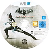 Batman Arkham City: Armoured Edition WiiU disc (ABTPWR)