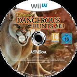 Cabela's Dangerous Hunts 2013 WiiU disc (ACAP52)