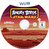 Angry Birds Star Wars WiiU disc (AGRP52)