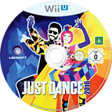 Just Dance 2016 WiiU disc (AJ6P41)